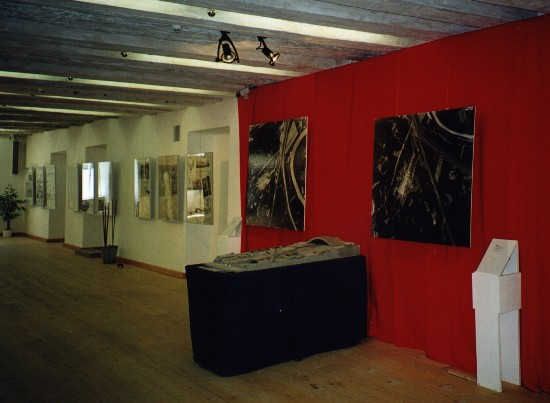 Ausstellung der Gedenkstättenmodelle