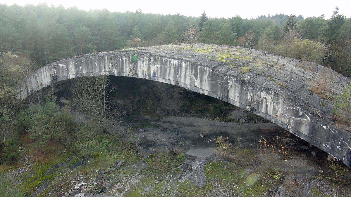 Bunker Bogen Mühldorfer Hart KZ Gedenkstätte