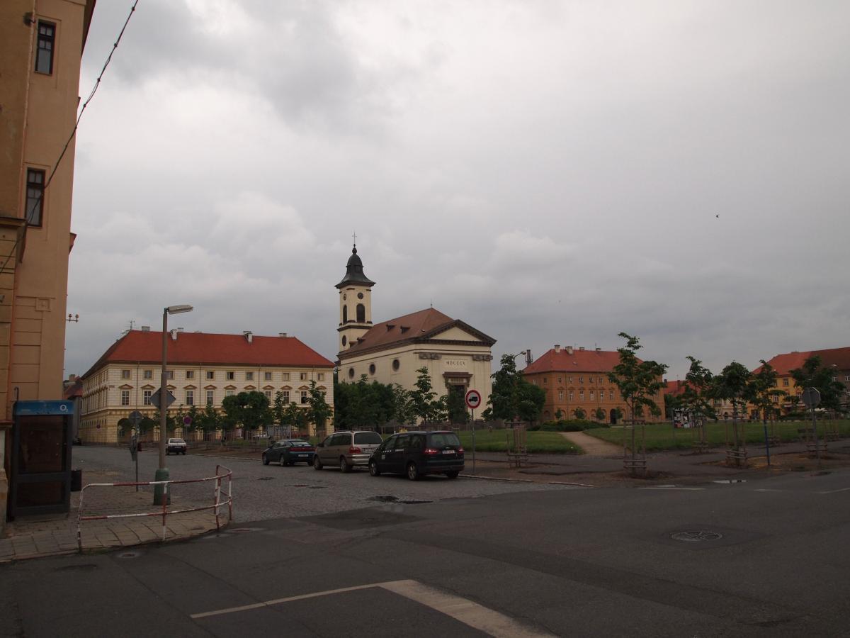 Marktplatz von Terezin