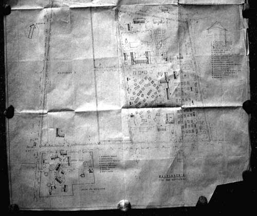 Plan des Waldlagers