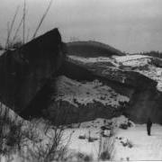 gesprengter Bunker