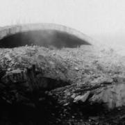 Sprengung des Bunkers